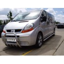 B1 Ø70 OPEL VIVARO 2002-2006 SIDE BARS STEPS PAIR