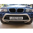 BMX5.35.0032	BMW X5 E53 Front Bullbar A-Bar Ø 60mm