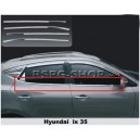 3208141 HYUNDAI IX-35 2010+ Chrome Window Trim Cover 4  Pcs. S.Steel