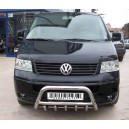 Ø 70 VWT5.35.3786 VOLKSWAGEN TRANSPORTER T5 FRONT BULL-BAR WITH GRILLE