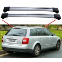 Audi A4 B6 Avant Estate 2000–2005 Aero Cross Bars Set