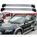 Audi A4 B8 Allroad quattro Avant Estate 2009+ Aero Cross Bars Set