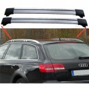 Audi A6 C6 Estate Avant Aero Cross Bars Set