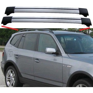 BMW X3 E83 2003-2010 Aero Cross Bars Set Aluminium Spoiler