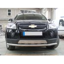 Ø70 CECA.33.0062 CHEVROLET CAPTIVA 2006+ FRONT PROTECTION BAR SINGLE LINE