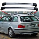 BMW 3 Series E46 From 04.98 Estate Aero Cross Bars Roof rack Spoiler