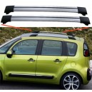 Citroen C3 Picasso 2007+ Aero Cross Bars Set Aluminium Spoiler