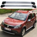 Dacia Sandero Stepway 2009+ Aero Cross Bars Set Aluminium Spoiler